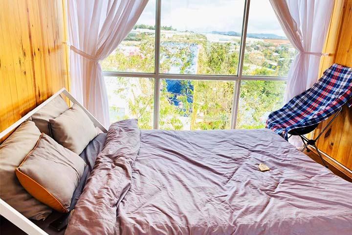 phòng ngủ homestay legume